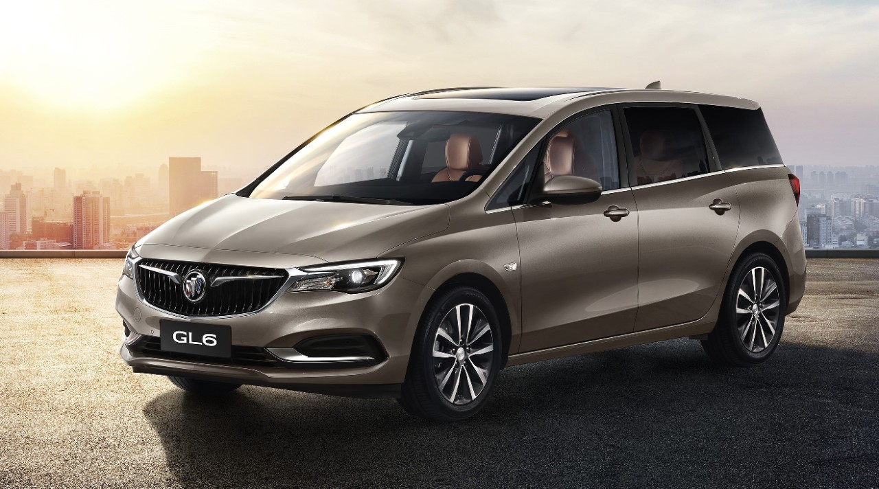 buick introduces gl6 mid-size mpv, excelle gx wagon to lineup in