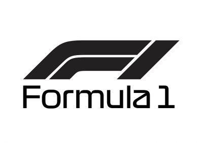 Formula One Logo Grayscale