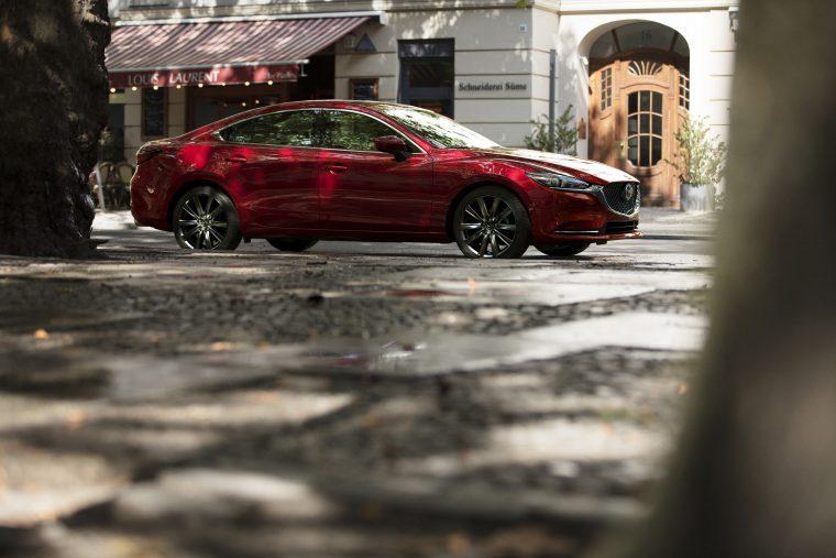 2018 Mazda6 redesigned