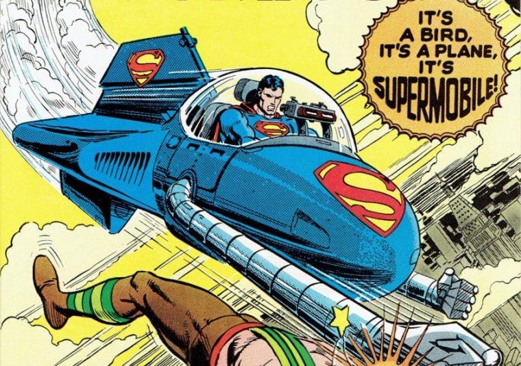 superman super mobile clark kent car vehicle DC comics