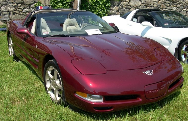 2004 Chevrolet C5 Corvette 50th Anniversary maroon