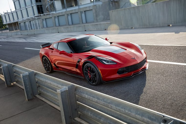 2018 Chevrolet C7 Corvette Grand Sport red