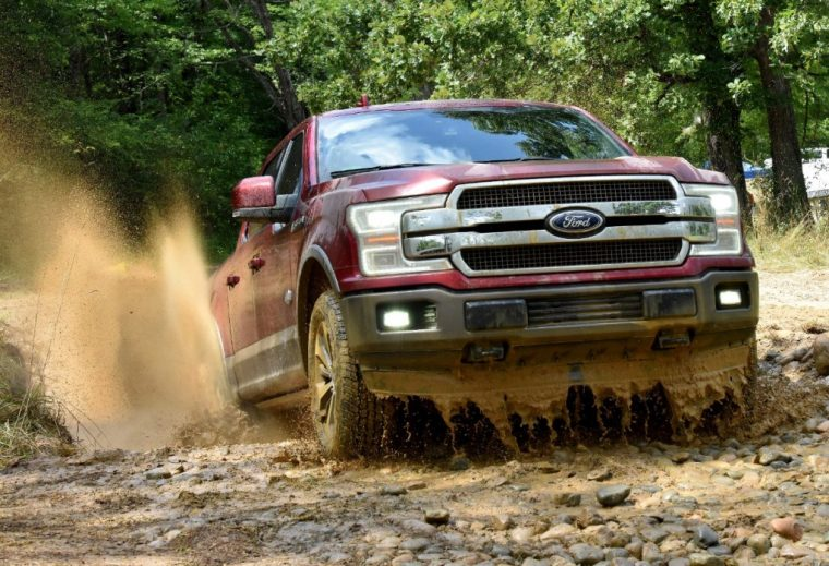 2018 Ford F-150 pickup truck overview specs details off road driving
