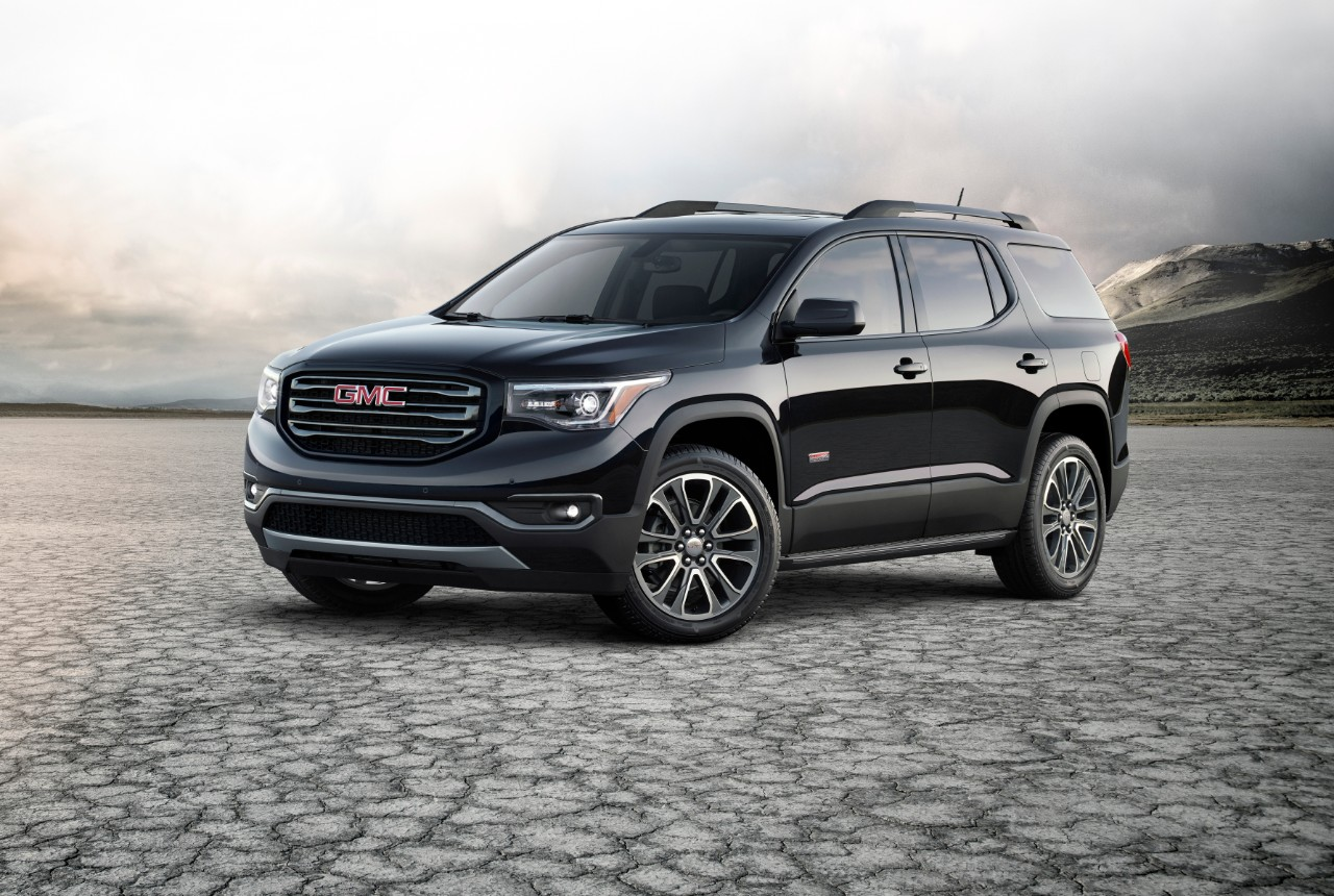 acadia gmc terrain 2022 suv gm american engine features colors cars specs order road usa makes package list its auto