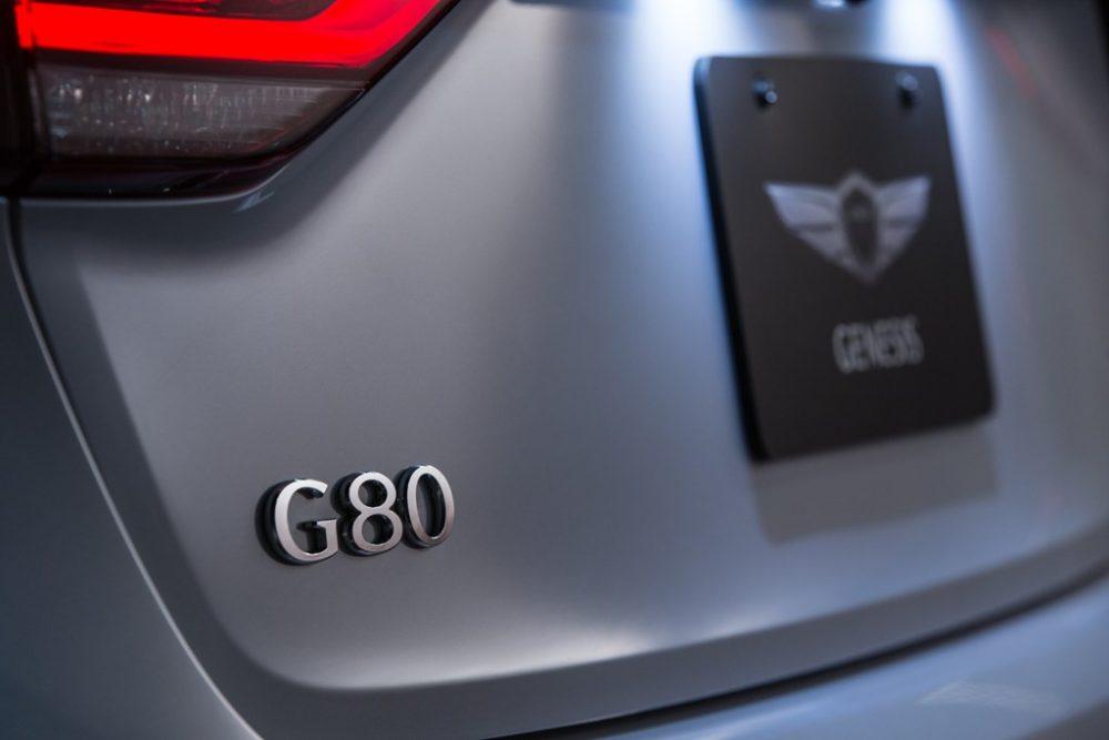 Genesis G80 J.D. Power