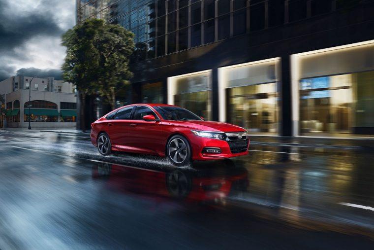 2018 Honda Accord Sedan North American Car of the Year Finalist NACTOY