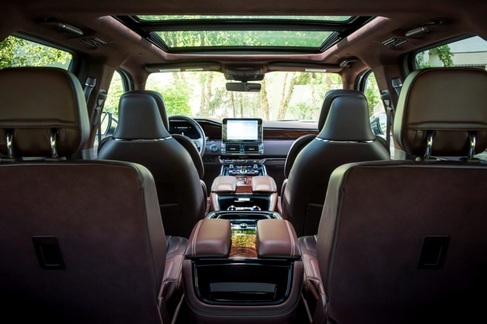 Lincoln Navigator interior | Esquire Names Lincoln Navigator Best Road Trip Car