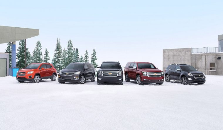 Chevrolet Suvs Awarded Kelley Blue Book Best Family Car Awards For