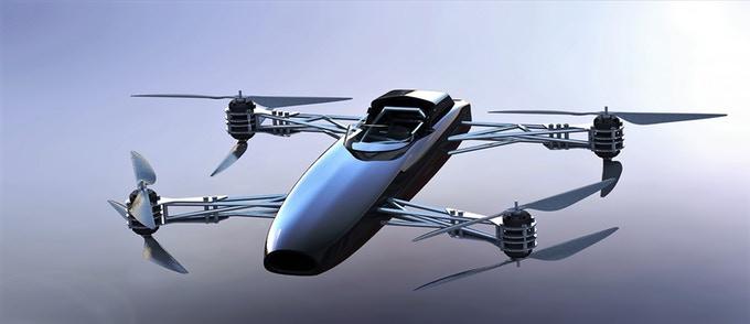 Alauda Mark 1 Airspeeder