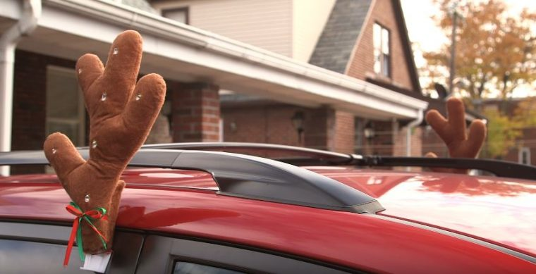 reindeer antlers decorations for your car