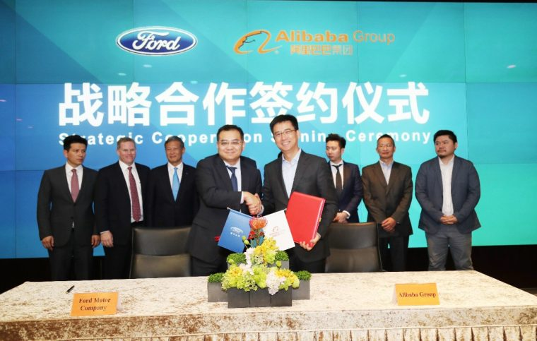 Ford and Alibaba Explore Strategic Collaboration to Reimagine Vehicle Ownership Experiences, Expand Mobility Services