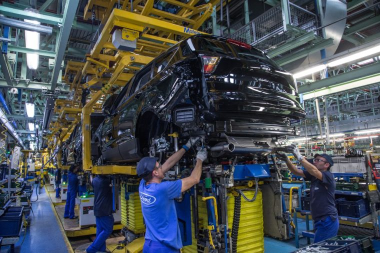 Ford Valencia Vehicle Operations investment for Kuga production