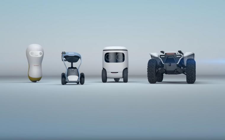 Honda 3E Robotics Concept Suite CES 2018