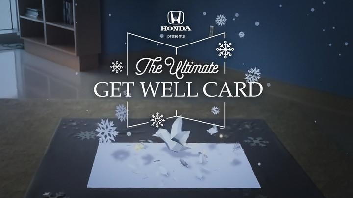 Honda Get Well Card