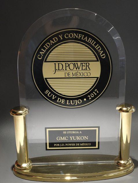 GMC Yukon wins Best Premium SUV in J.D. Power's 2017 Mexico Vehicle Dependability Study