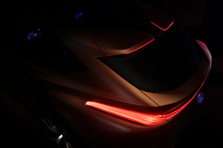 Lexus LF-1 Limitless crossover concept vehicle Detroit Auto Show teaser design