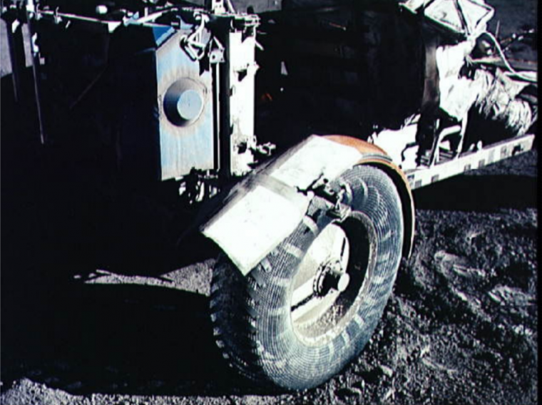 Lunar Rover map fender