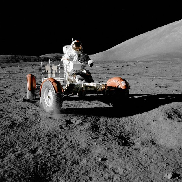 NASA Apollo 17 Lunar Roving Vehicle