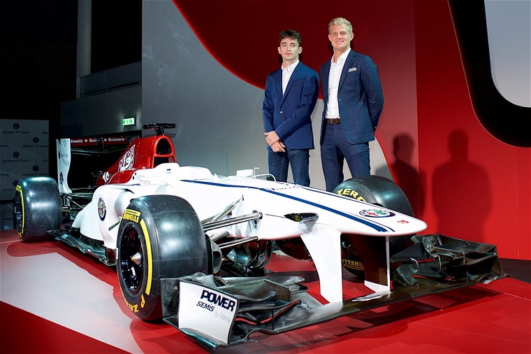 Sauber F1 2018 Driver Lineup