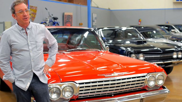 Tim Allen classic cars drive celebrity collection