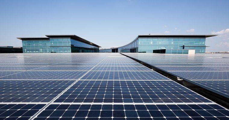 Toyota HQ Solar Panels