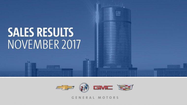 General Motors December 2017 sales