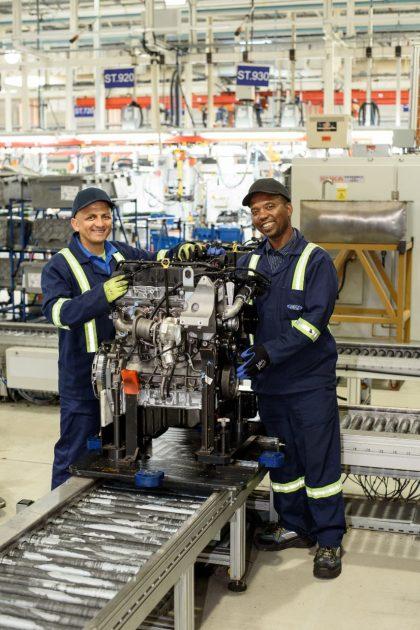 Ford Struandale Engine Plant Duratorq TDCi turbodiesel