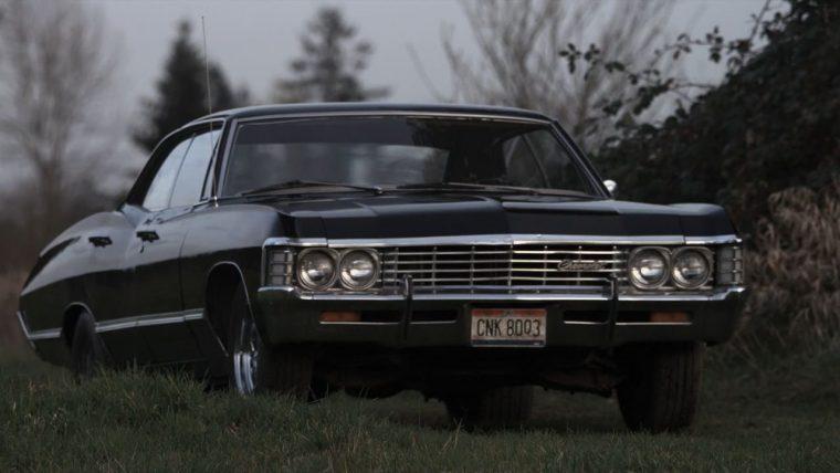 Supernatural Impala 5x22 Swan Song