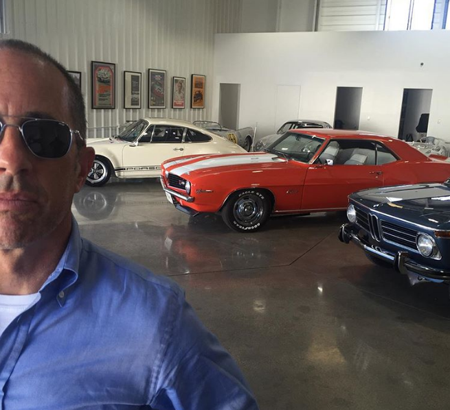 Jerry Seinfeld Car Collection >> 5 Coolest Cars From Jerry Seinfeld S Instagram The News Wheel