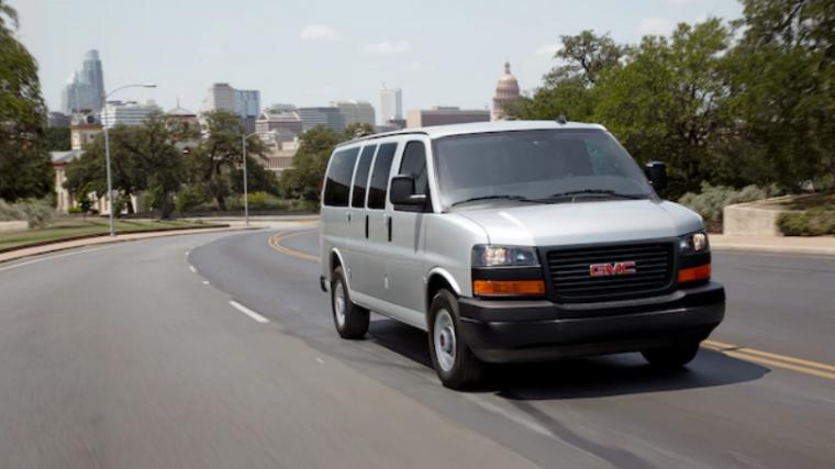 2018 GMC Savana Passenger Van