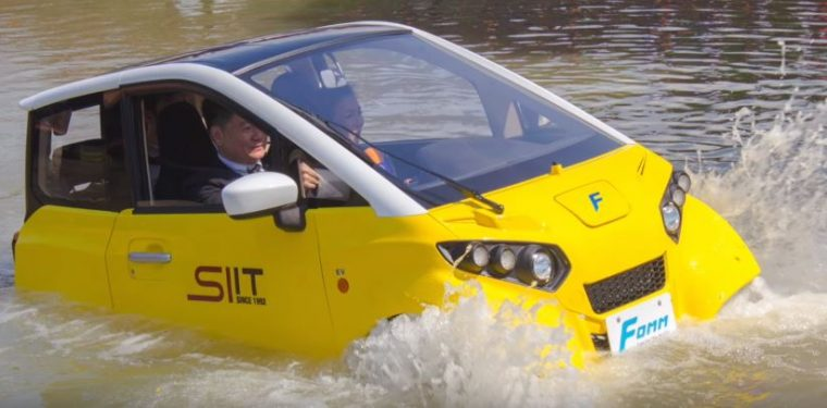 FOMM floating car
