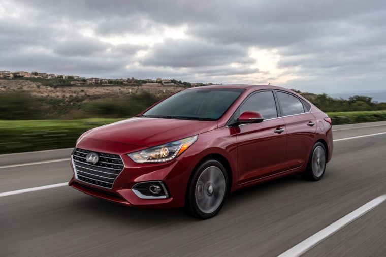 2018 Hyundai Accent overview subcompact car model features specs exterior photo performance