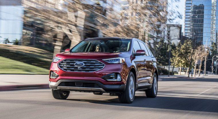 2019 Ford Edge Titanium | 2019 Ford Edge IIHS Top Safety Pick