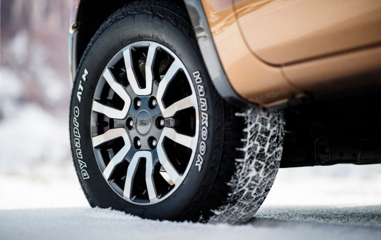 2019 Ford Ranger tire