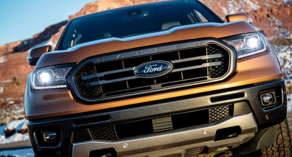 New Ford Ranger grille | Next-Gen Ford Ranger Reportedly Getting Plug-In Hybrid