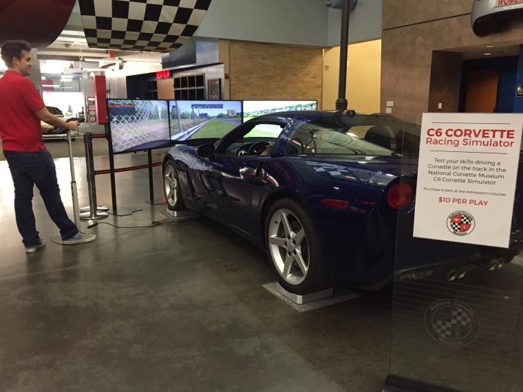 National Corvette Museum >> National Corvette Museum Adds Corvette Themed Racing Simulator The