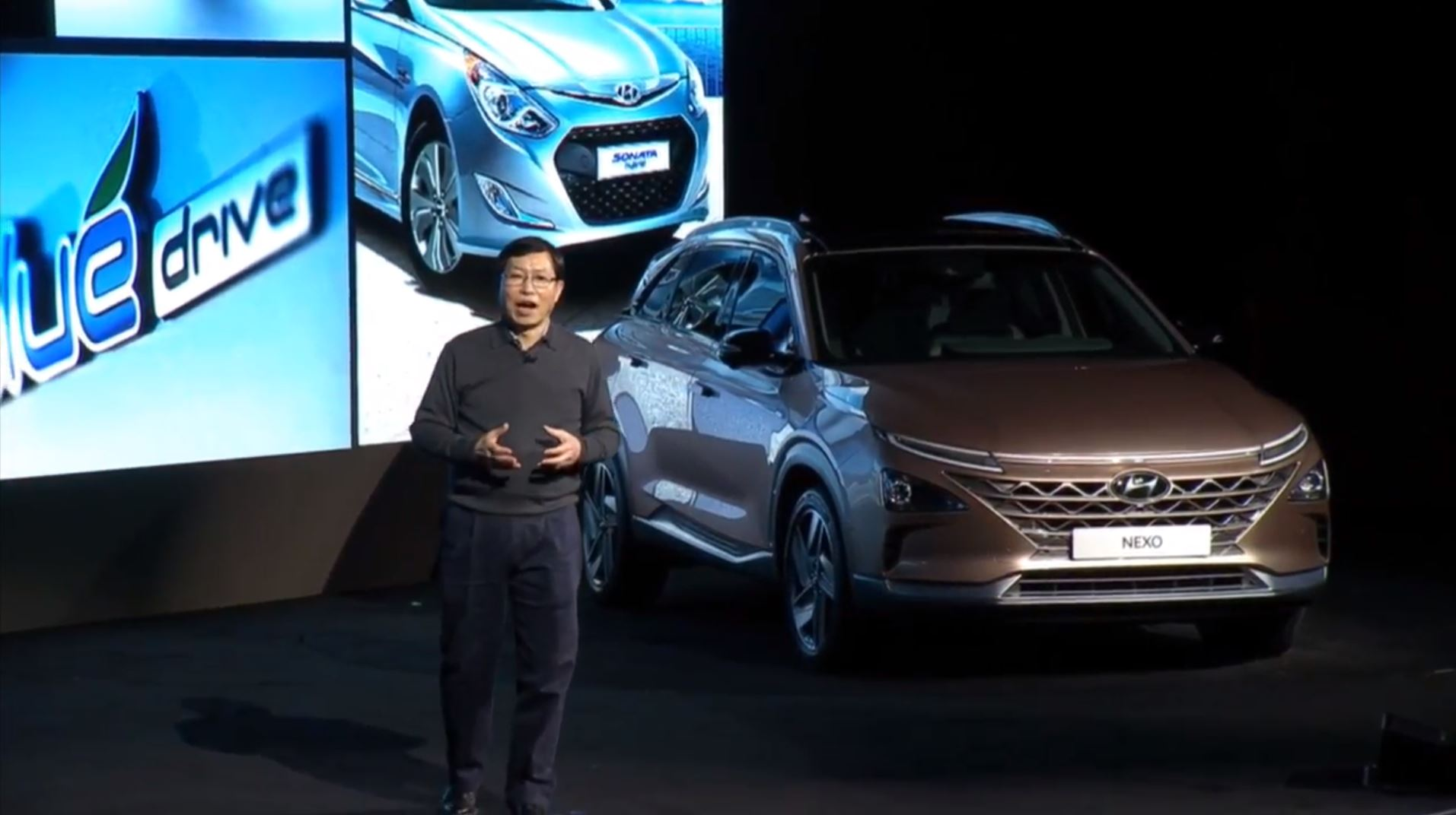 Hyundai NEXO Fuel Cell Crossover Revealed at CES 2018 ...