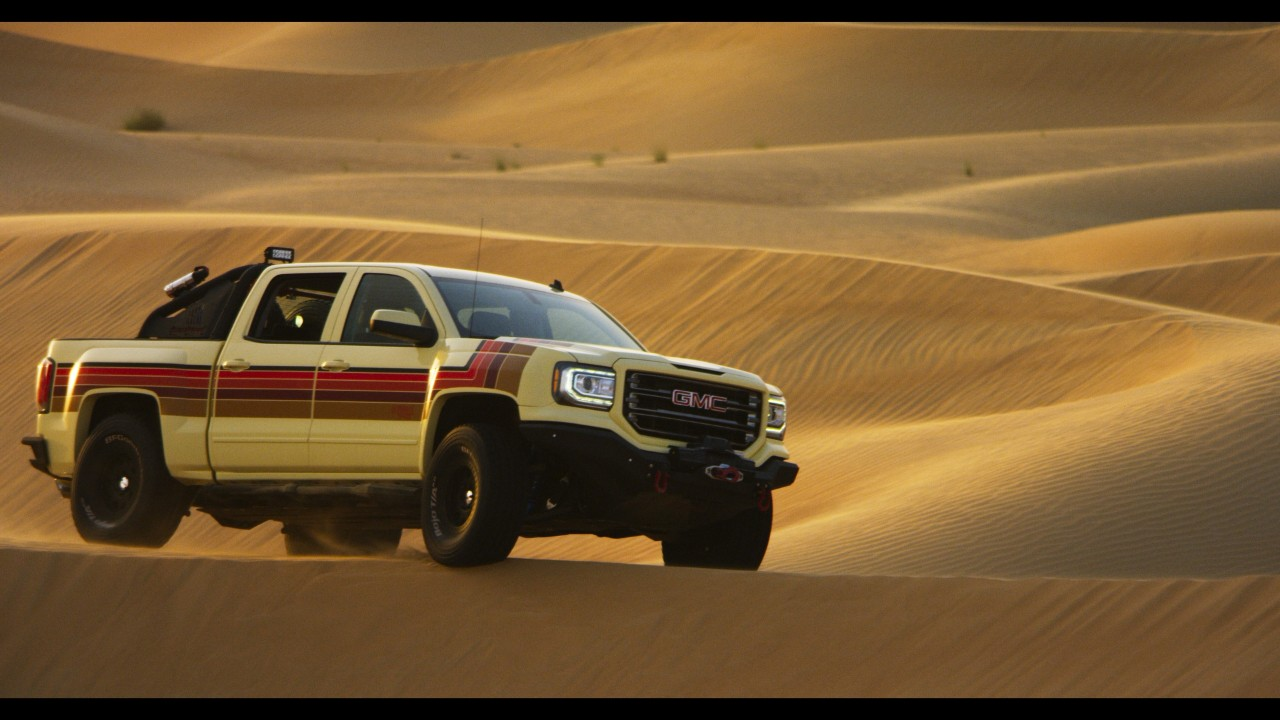 GMC Desert Fox Concept Truck Makes Appearance at IGN ...
