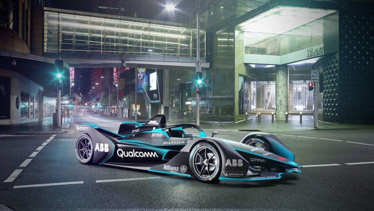 New Gen2 Formula E Car