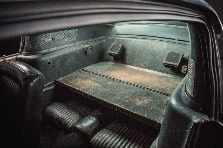 1968 Ford Mustang Bullitt interior