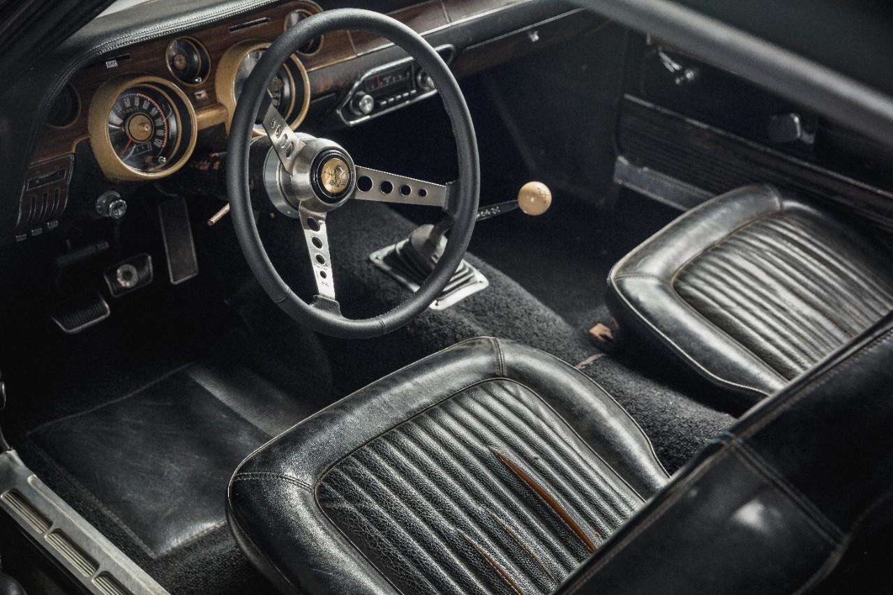 1968 Ford Mustang GT Bullitt interior