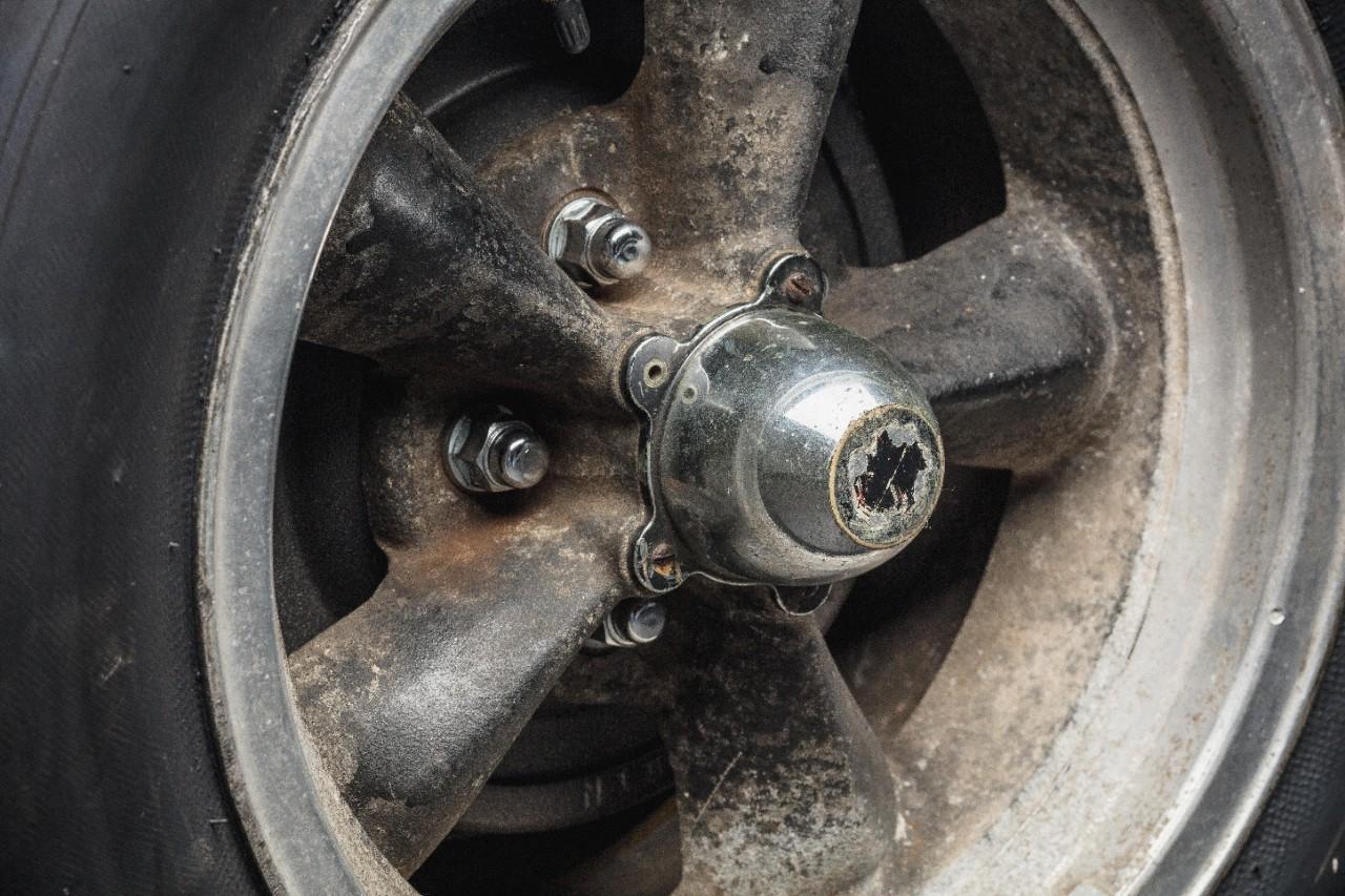 1968 Ford Mustang GT Bullitt wheels