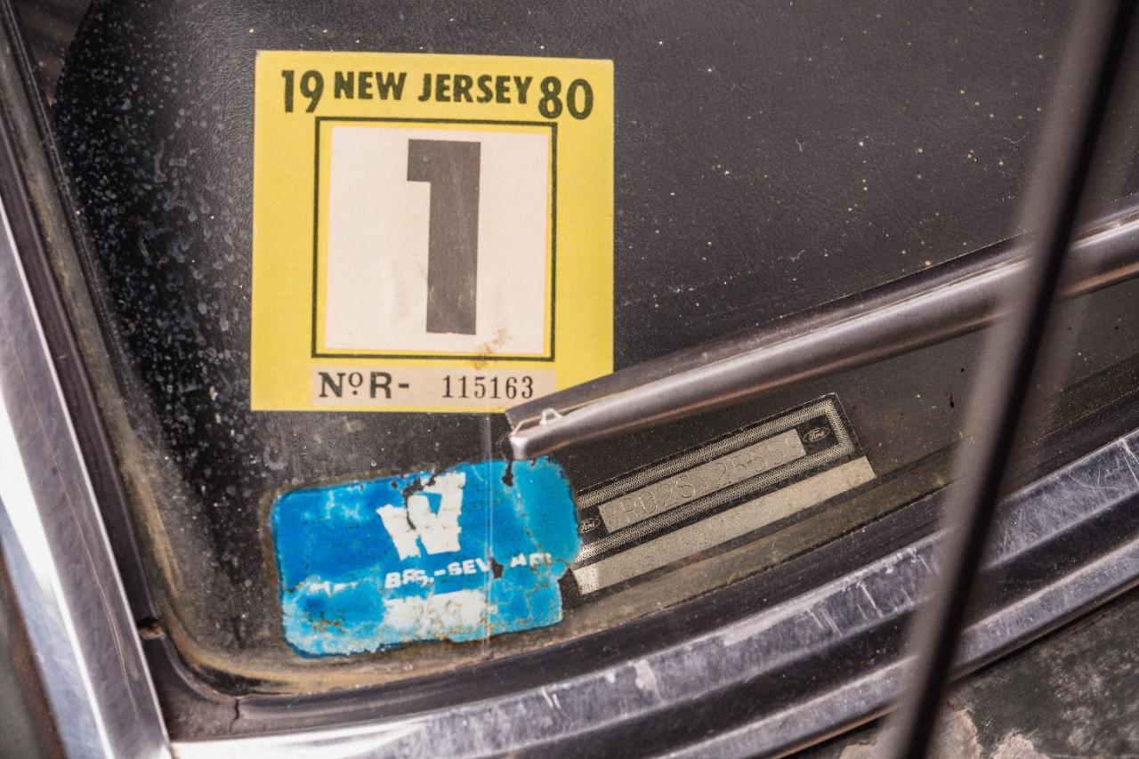 1968 Ford Mustang GT Bullitt Warner Bros window sticker
