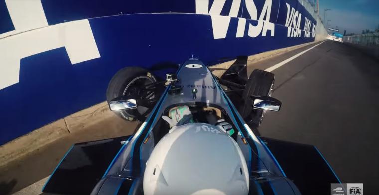 Orlando Bloom Formula E crash