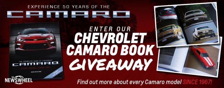 Camaro Book Giveaway