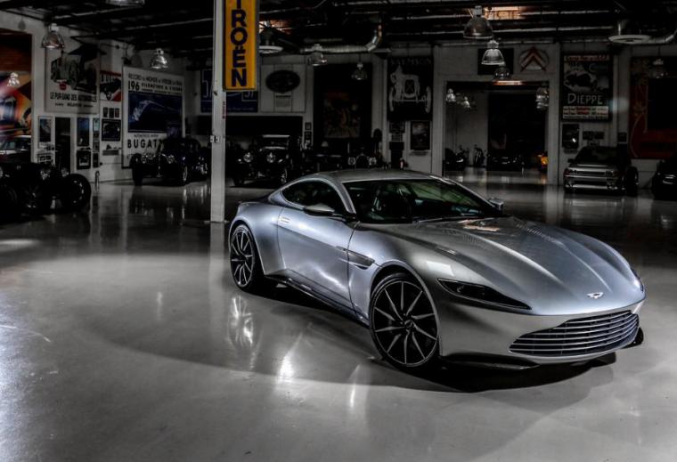 Jay Leno Aston Martin DB10