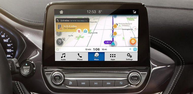 Ford SYNC 3 Waze integration with SmartDeviceLink