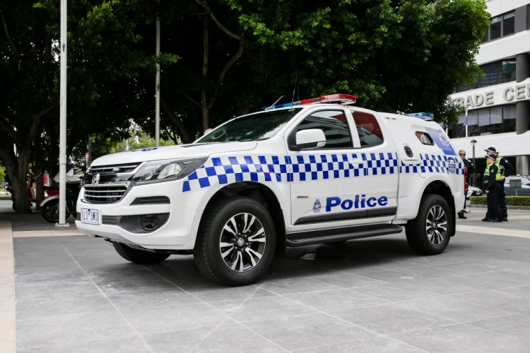 Victoria Police Holden Van Based on Colorado