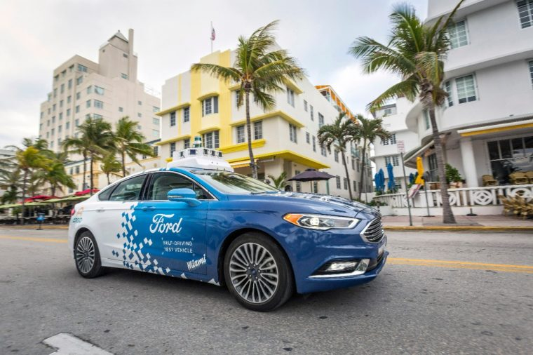 Ford Autonomous Vehicle Miami