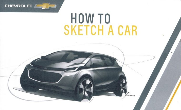Chevrolet - How to Sketch a Car (Page 1)